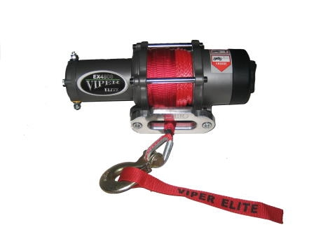 EMP 4000 lb Viper Elite Winch with Synthetic Rope