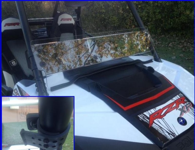 EMP RZR XP1K and RZR 900 Half Windshield/ Wind Deflector