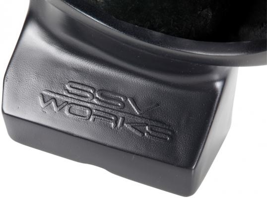 SSV Works  WP-CM2S10 - CAN-AM Commander/Maverick Weather Proof Under Dash Sub Box with amplified 10
