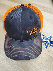 Orange Kryptek Snap Back