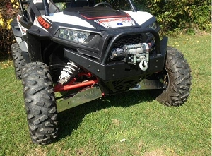 EMP RZR Extreme Front Bumper / Brush Guard with Winch Mount (XP1K, 2016-18 RZR 1000-S and 2015-19 RZR 900)