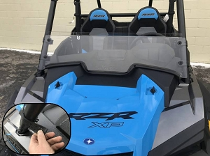 EMP 2019 RZR Half Windshield/ Wind Deflector for the RZR Turbo and RZR XP1000