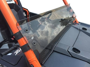 EMP Tinted Hard Coated -RZR XP1K and 2015-18 RZR 900 Half Windshield/ Wind Deflector