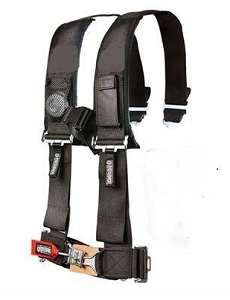 EMP UTV Black 4-Point Harness