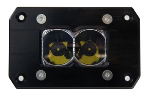 HERETIC 6 SERIES LIGHT BAR - BA-2: FLUSH MOUNT