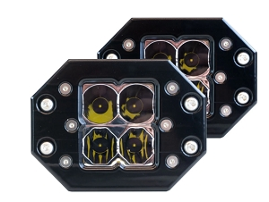 HERETIC 6 SERIES QUATTRO LIGHT: FLUSH MOUNT