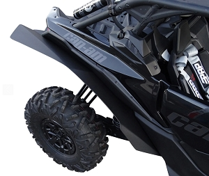 Mudbusters CAN-AM MAVERICK X3 RS XL WIDE FENDERS (IDEAL FOR 72