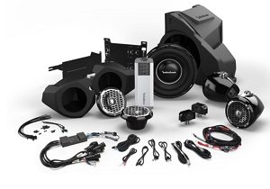 Rockford Ride Command RZR14RC-STAGE5 1,000 Watt Stereo, Front and Rear Speaker, and Subwoofer Kit for Select Polaris® RZR® Models