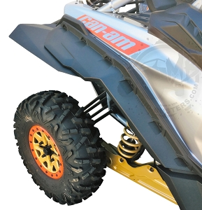 Mudbusters CAN-AM MAVERICK X3 - BRP FENDER EXTENSIONS (MAX COVERAGE)