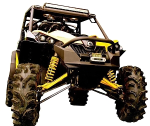 Mudbusters CAN-AM MAVERICK FENDER FLARES (2 & 4 SEATER)