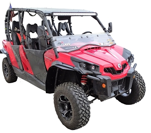 Mudbusters CAN-AM COMMANDER FENDER EXTENSIONS (FOR XT FENDERS)