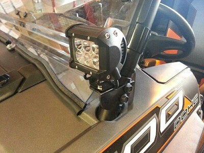 RZR Cube Light Bracket